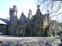 The Primo School of Music is on the top floor of the Mansion House at Insole Court, Llandaff